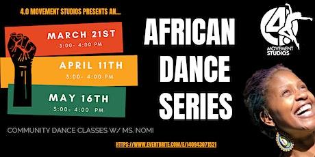African Dance Class Series tickets