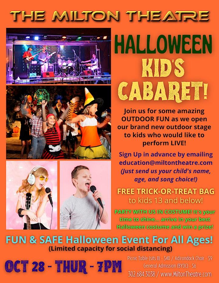 Quayside @ Nite Halloween Kid's Cabaret! image