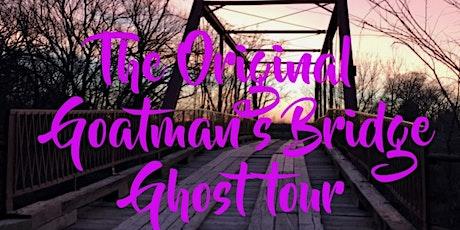 The Original Goatman's Bridge Ghost Tour tickets