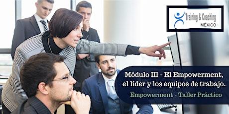 Empowerment - Módulo III - Modalidad Online boletos