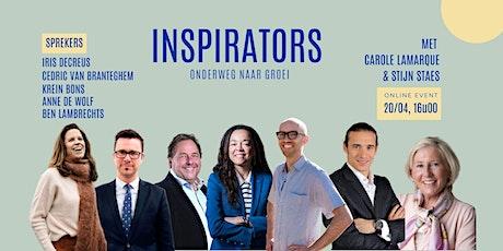 INSPIRATORS | Onderweg naar groei tickets