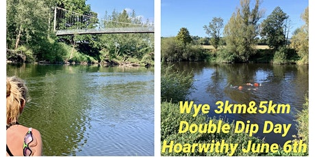 Wye Double Dip Day Hoarwithy 3k  Morning  swim & 5k  Afternoon Swim tickets