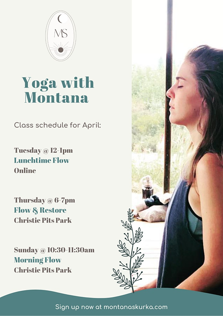 CANCELED due to COVID-19: Yoga in the Park ~ Sunday Morning Flow & Restore image