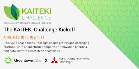 The KAITEKI Challenge Kickoff Event tickets