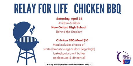 Relay For Life Chicken BBQ tickets