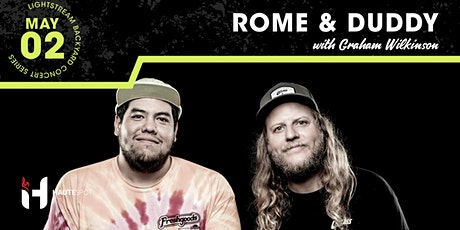 Rome & Duddy w/ Graham Wilkinson - Friends & Family Acoustic Tour tickets