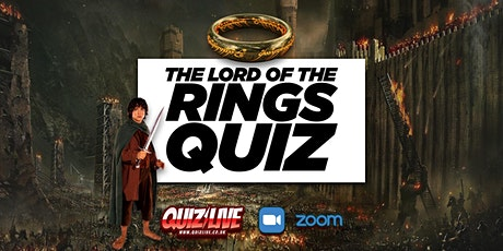 Daimo's Saturday Special: Lord of the Rings Quiz Live on Zoom tickets