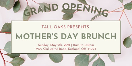 Tall Oaks Mother's Day Brunch tickets