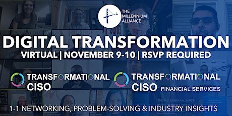 Transformational CISO & CISO Financial Services tickets