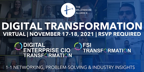 Digital Enterprise CIO & FSI Transformation tickets