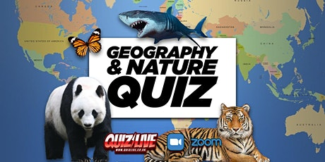 Daimo's Thursday Theme: Geography & Nature Quiz Live on Zoom tickets