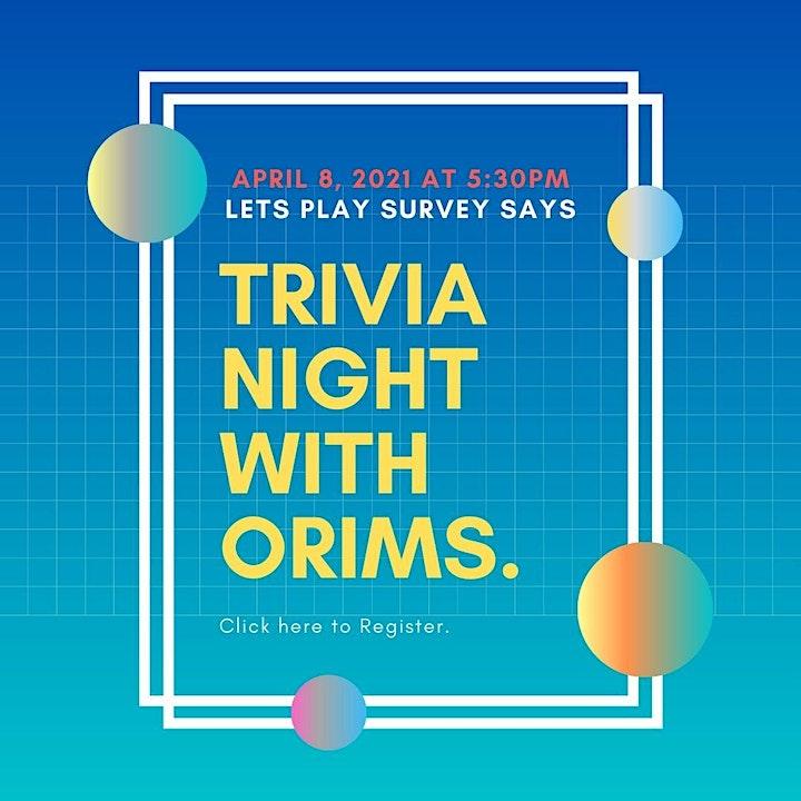 ORIMS Trivia Night image