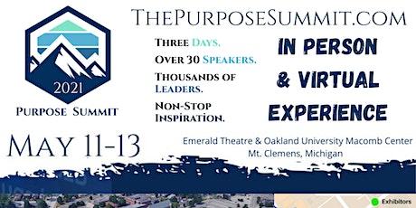 Purpose Summit 2021 tickets