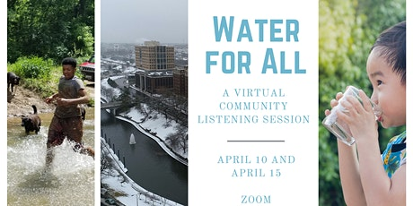 Water for All: A Virtual Community Listening Session tickets