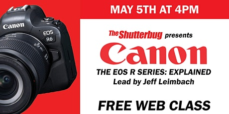 Canon | The EOS R System Explained billets