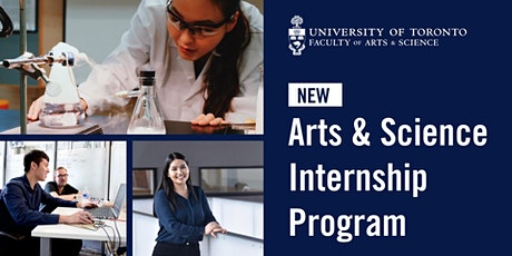 U of T Arts & Science Internship Program Information Session tickets