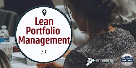 SAFe ® 5.0 Lean Portfolio Management (LPM) Training with Certification tickets