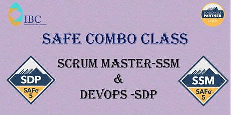 SAFe Combo -  DevOps 5.1  and Scrum Master 5.0  - Remote class tickets