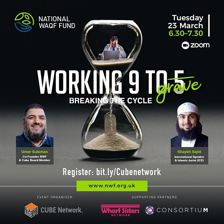 National Waqf Fund - Working 9 To 5 Breaking The Cycle image