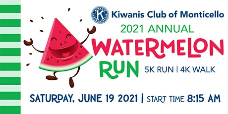 Monticello Kiwanis Club Watermelon Run 2021 tickets