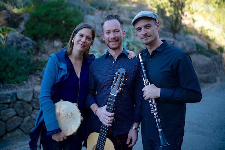 Brazilian Music Night! Rebecca Kleinmann invites Falso Baiano and Paçoca image