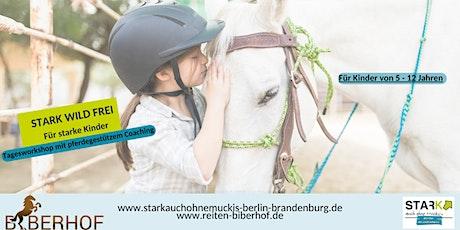 Stark auch ohne Muckis - Selbstbehauptung mit pferdegestütztem Coaching Tickets