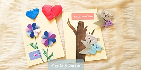 Origami Heart Bookmark/Card Children Workshop (Perfect for Mother's Day) biglietti