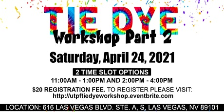 Tie-Dye Workshop tickets