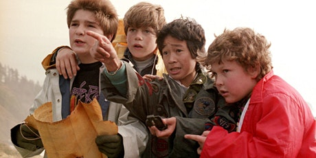 The Show Must Go On!  Drive-in family friendly movie:  The Goonies (PG) tickets