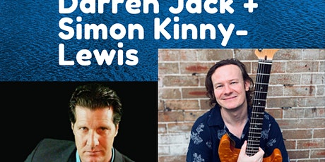 Simon Kinny-Lewis with Darren Jack at the Stag and Hunter Hotel tickets