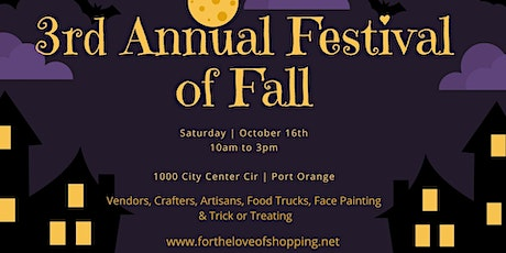 3rd Annual Festival of Fall tickets