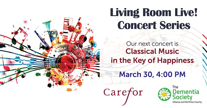 Living Room Live  Concert series-Classical Music in the Key of Happiness image
