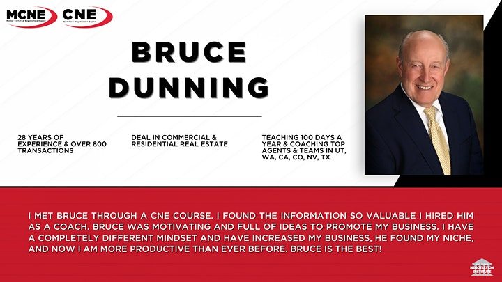 Certified Multiple Offers Expert (CMOE) -  Zoom Class (Bruce Dunning) image