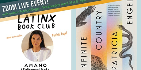 LatinX Book Club - April Read and Meet - With author Patricia Engel tickets