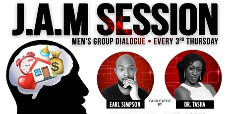 J.A.M Mens Open Discussion Panel (FREE & For Men Only) tickets