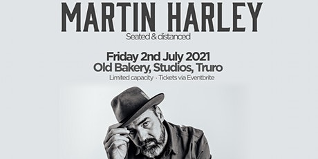 Martin Harley - Truro (seated event) tickets