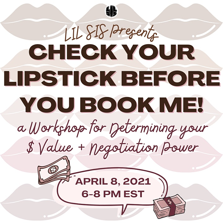 Check Your Lipstick Before You Book Me image