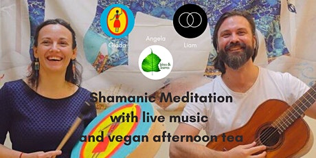 Shamanic Meditation with live music and vegan afternoon tea tickets