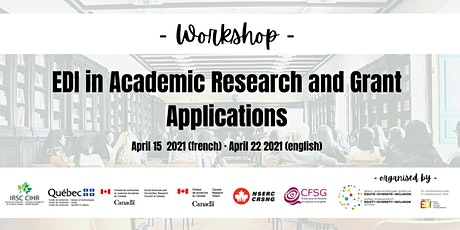 EDI in Academic Research & Grant Applications tickets