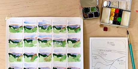Thumbnails in Watercolor: Tiny Abstract Paintings tickets