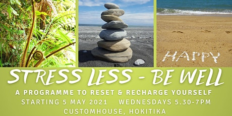 Stress Less - Be Well Programme tickets