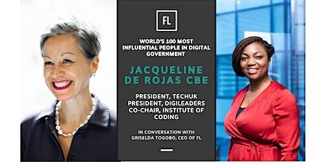 In Conversation With Jacqueline de Rojas CBE, President TechUK tickets