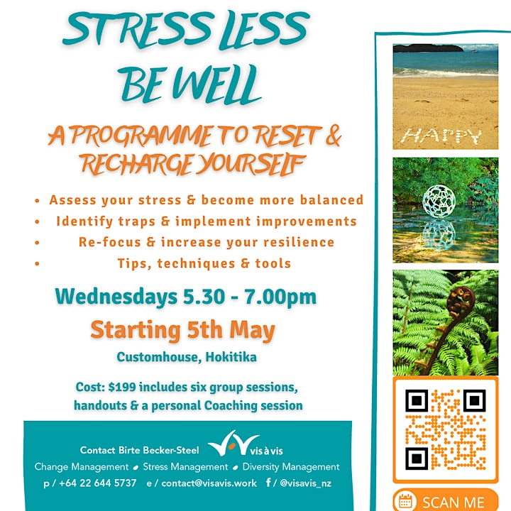 Stress Less - Be Well Programme image
