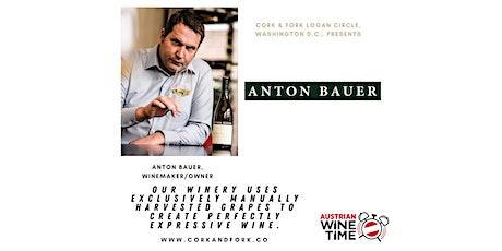 Austrian Wine Time Series: Anton Bauer, Wagram Tickets