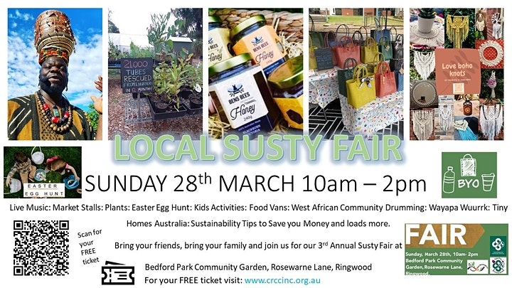 Special COVID Recovery-Living Local-Sustainability Fair image