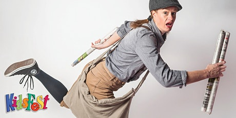 The Paper Girl Show - From the Creator of Sport Suzie tickets