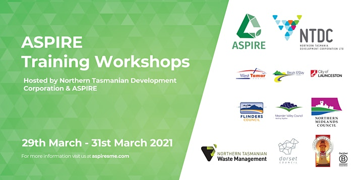 ASPIRE Training Workshop - WEST TAMAR LOCATION image