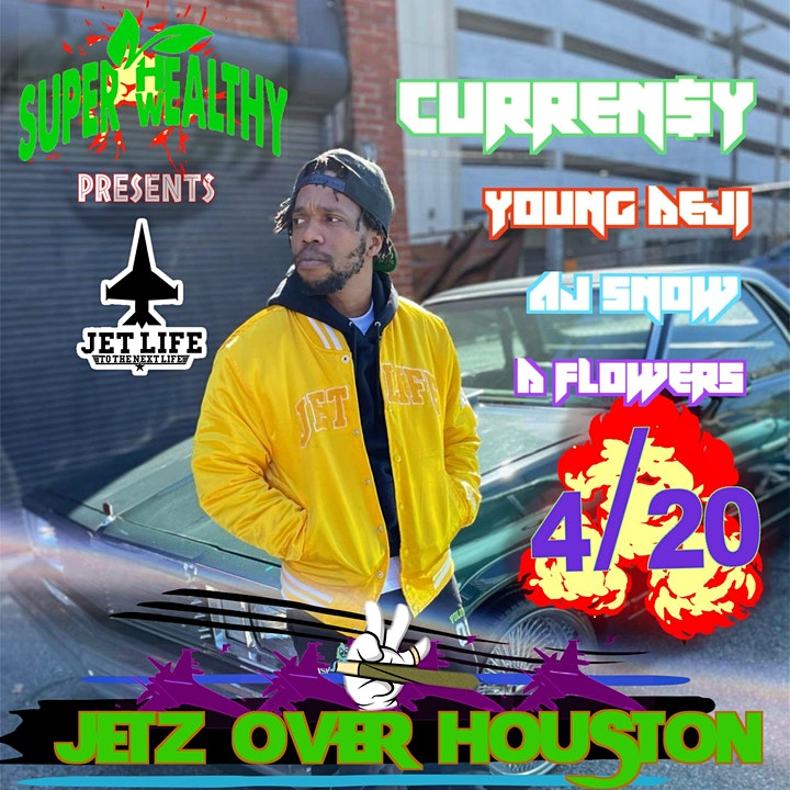 Super healthy wealthy productions presents: Jetz Ova Houston image