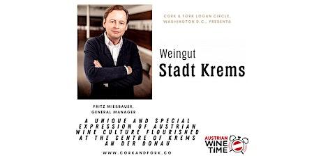 Austrian Wine Time Series: Fritz Miesbauer, Stadt Krems, Kremstal tickets