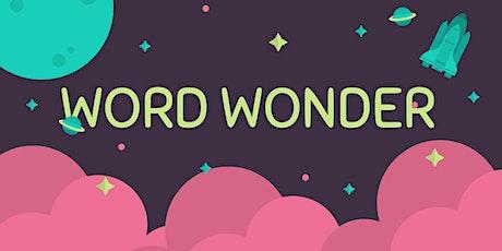 Word Wonder (10+) tickets